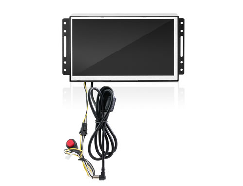 7 inches open frame LCD display with battery and button