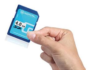 Soporte tarjeta SD
