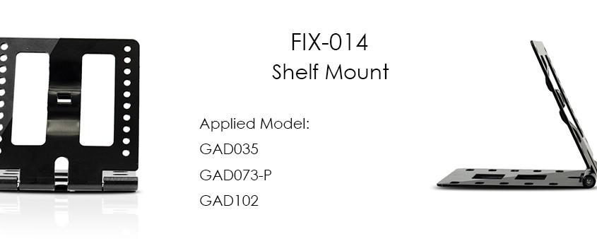 Montaje en estante FIX014