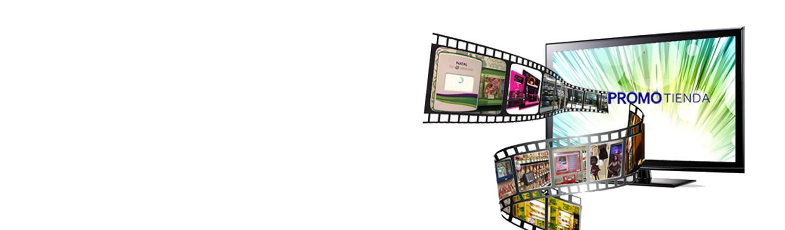 Videomonitores publicitarios en el punto de venta