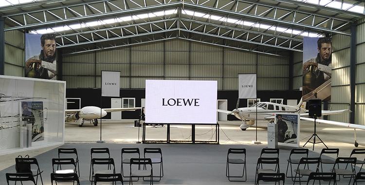 pantallas para eventos exteriores